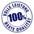 stempel 100% volle leistung beste qualität