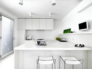 moderna cucina bianca