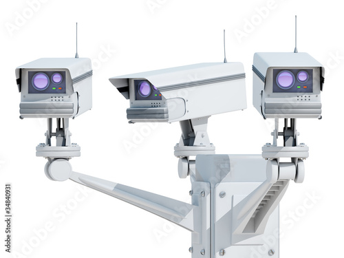 Video cameras for surveillance