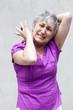 femme âgée crise de panique