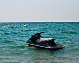 JetSki in the water .