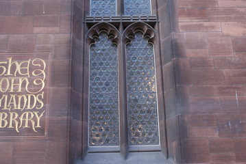 Manchester - The John Rylands Library