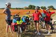 Randonnée famille en bicyclette