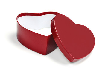 heart shaped valentine gift box
