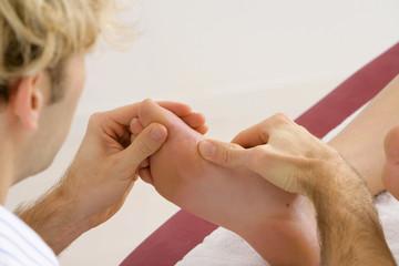 Réflexologie  plantaire - Massage des pieds