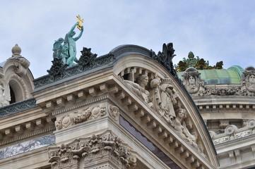 Toîts de l'Opéra garnier, Paris