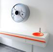 Sehr modernes Badezimmer