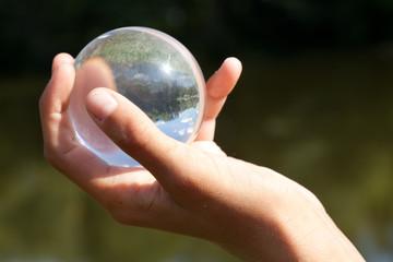 Шар для контактного жонглирования.