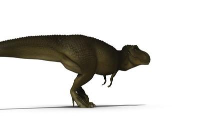 T-rex 3d animation