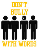bully with words poster