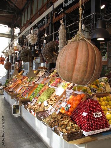 Keuken foto achterwand Boodschappen Mercado San Miguel