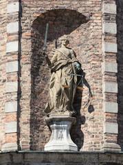 Statue der Justitia, Rathaus Düsseldorf