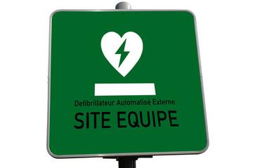 Défibrillateur cardiaque - Urgence - Secours