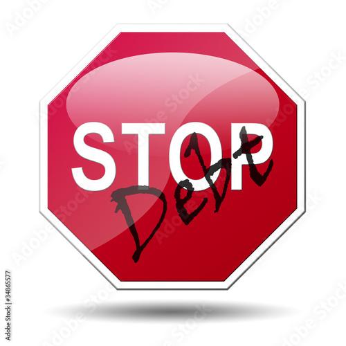 Señal STOP Debt