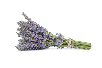 Bunch lavender flowers