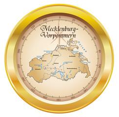Freistaat Mecklenburg-Vorpommern in SVG