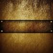 golden plate - 34867592