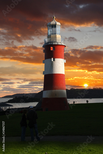 Plymouth, Lighthouse, England - 34867517