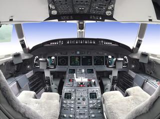 Cockpit Himmel