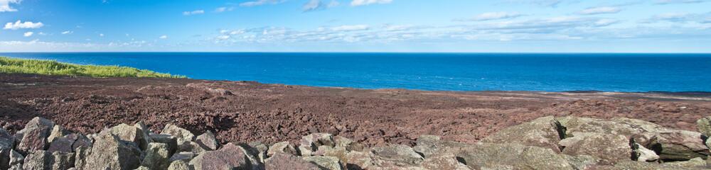 coulée du Piton de la Fournaise, île de la Réunion