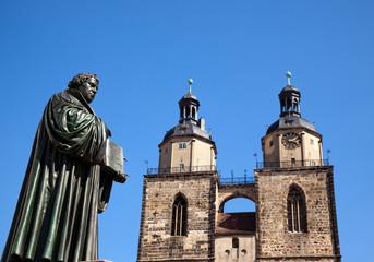 Luther und stadtkirche