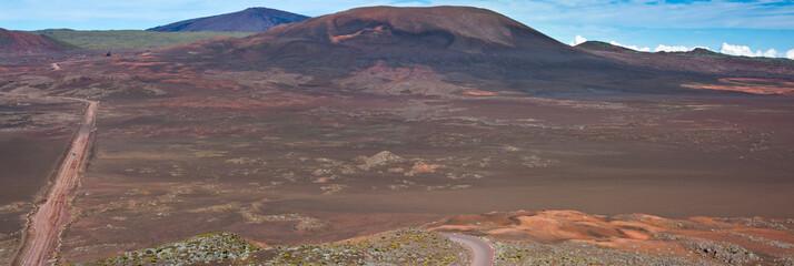 route du Volcan, plaine des Sables, Réunion