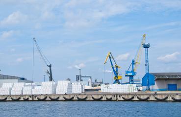 Hafen Industrie