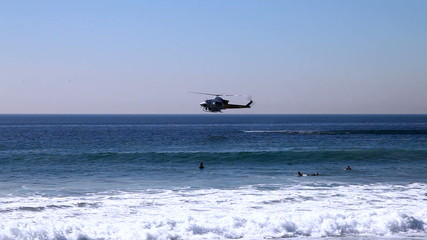Helicopter - search and rescue