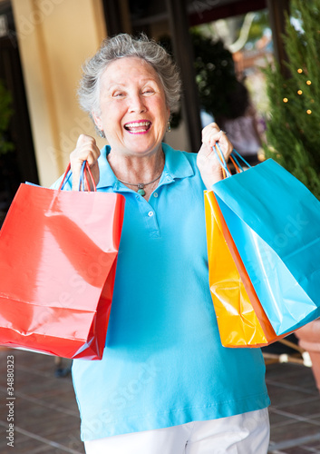 Senior Woman Shopper
