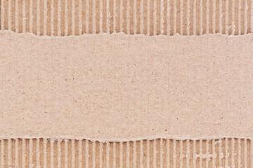 Feuille de carton ondulé