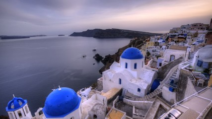 Sunset in Oia