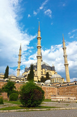 Selimiye Mosque - Edirne (portrait photo )