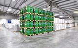 Lagerhalle Chemiebetrieb/ industry depot