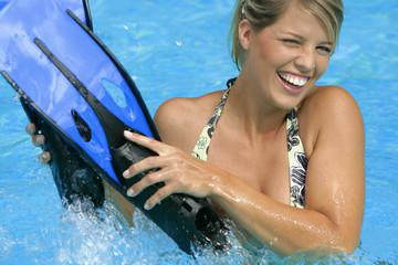 Femme - Activités  aquatiques