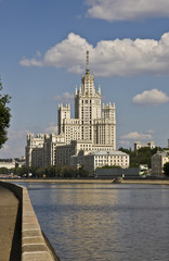 Moscow, high-rise building