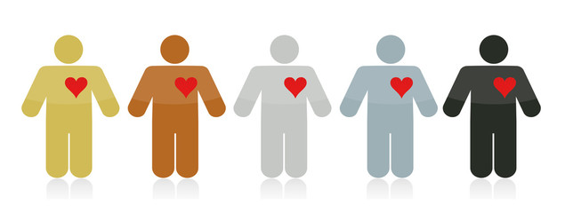 diversity love people illustration