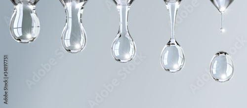 Water drop sequence - 34897751