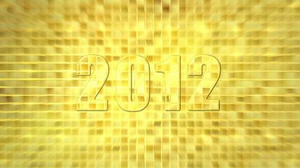 2012 transition gold background