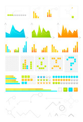 Information graph design elements