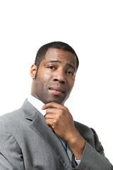 portrait african man
