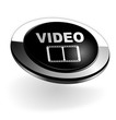 video sur bouton web 3d