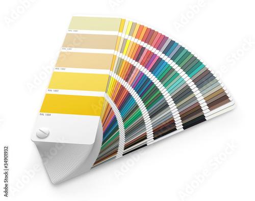 nuancier ral sur fond blanc 1 photo libre de droits sur la banque d 39 images image. Black Bedroom Furniture Sets. Home Design Ideas
