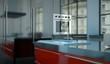 Küchendesign - schwarze Küche