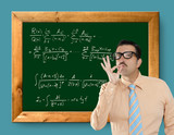 mathematical formula genius nerd geek easy resolve poster