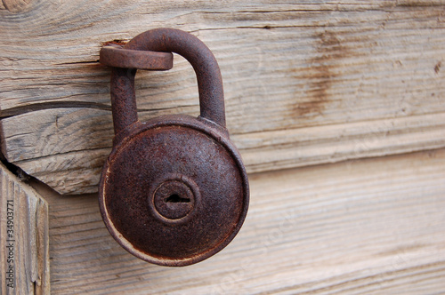 ancient door lock
