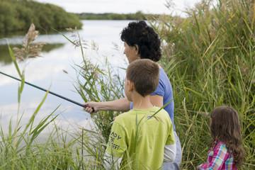Рыбалка на реке Карасук