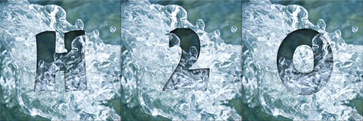 composition eau