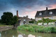 Costwold Village of Lower Slaughter,England