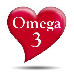 Corazon brillante texto Omega 3