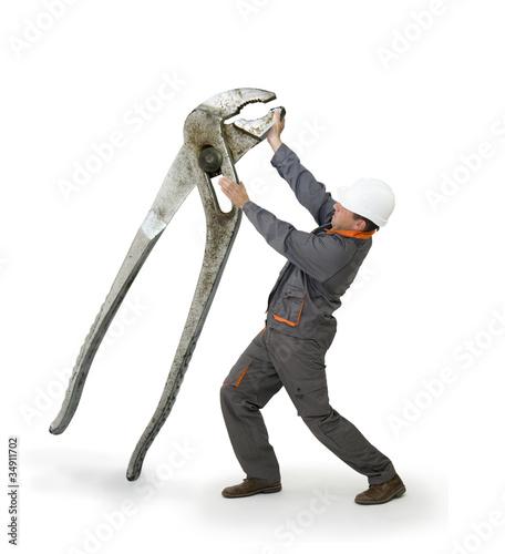 Bricolage - les outils adaptés - les pinces géantes